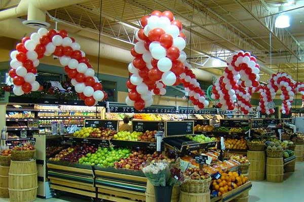 Madame ballon s unsere ideen f r dekorationen mit for Dekoration mit luftballons